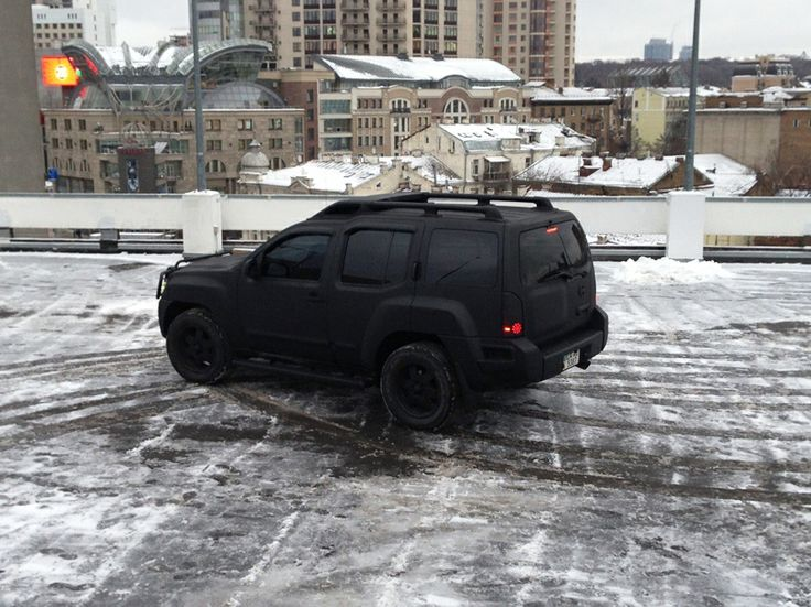 Plasti dip Xterra - Murdered Out