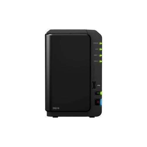 "Synology DiskStation DS216+II SAN/NAS Server - Intel Celeron N3060 Dual-core (2 Core) 1.60 GHz - 2 x Total Bays - 1GB RAM DDR3 SDRAM - Serial ATA/600 - RAID Supported 0, 1, Basic, Hybrid RAID, JBOD - 2 x 2.5""/3.5"" Bay - Gigabit Et... Free shipping on orders over $25."