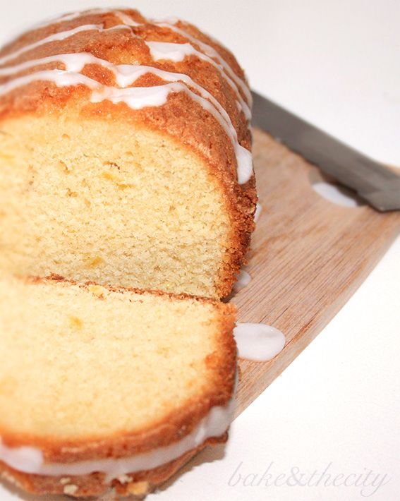 lemon drizzle syrup cake - nigella