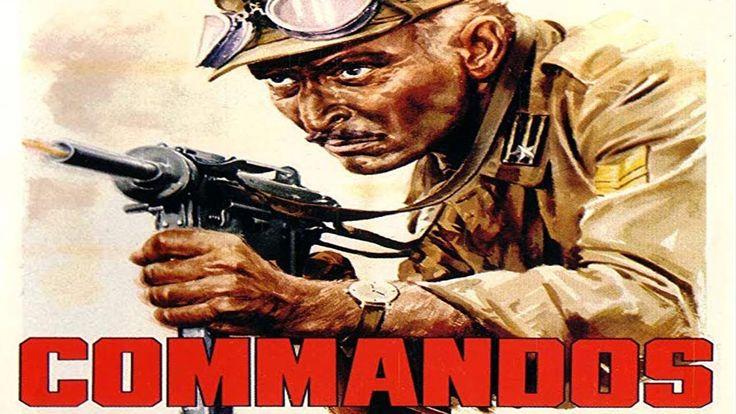 Commandos action adventure war movie full length