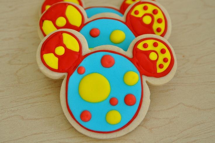 Meeska Mooska 1 Dozen Mickey Mouse Toodles Cookies Fancy