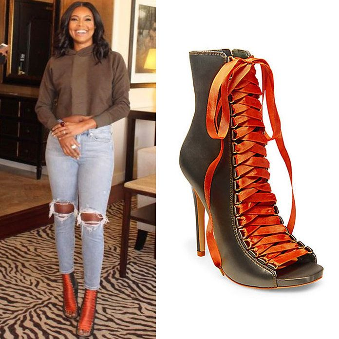 Get Your Hands on Gabrielle Union's Sexy (and Affordable!) Booties | Step out in Gabrielle Union's sexy and cool Steve Madden booties.