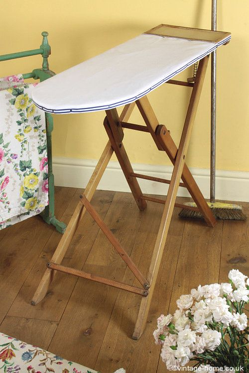 Vintage Home - Lovely Old Wooden Ironing Board: www.vintage-home.co.uk