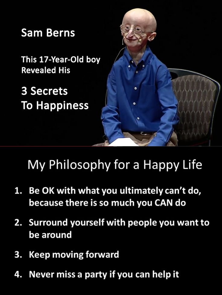 Sam Berns life quotes | Right Before Dying From A Rare Disease, This 17-Year-Old Revealed His 3 Secrets To Happiness. Click and watch video.