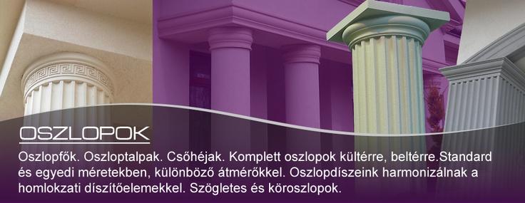 DECO-FOAM Díszlécek, stukkók, kül- és beltéri polisztirol díszítőelemek gyártása.  www.deco-foam.hu