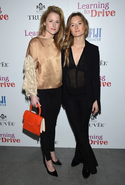 Mamie Gummer and Grace Gummer attend A Celebration for Patricia Clarkson, Presented by FIJI Water and Truvee Wines on December 15, 2015 in New York City.