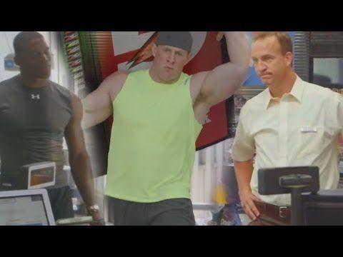 "Funniest Commercials of Gatorade ""Sweat it to Get it"" feat Peyton Manning, JJ Watt, Cam Newton - YouTube"