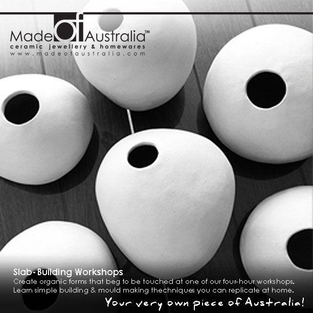 Saggar Fired Ceramic Jewellery & Homewares. www.madeofaustralia.com