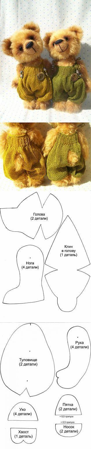 Bear w pattern