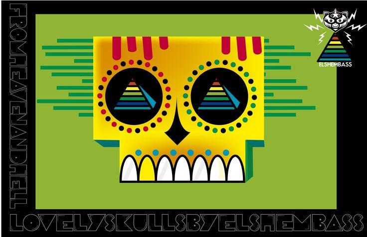 skulls 03 by elshembass, 2013