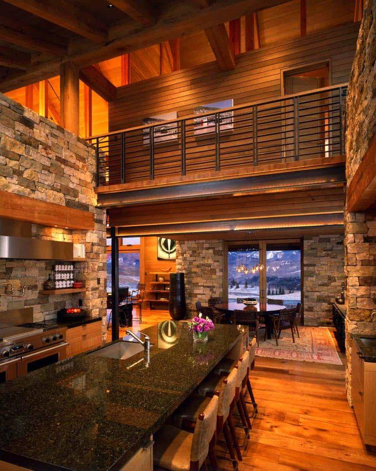 Modern meets rustic in a beautiful Colorado mountain