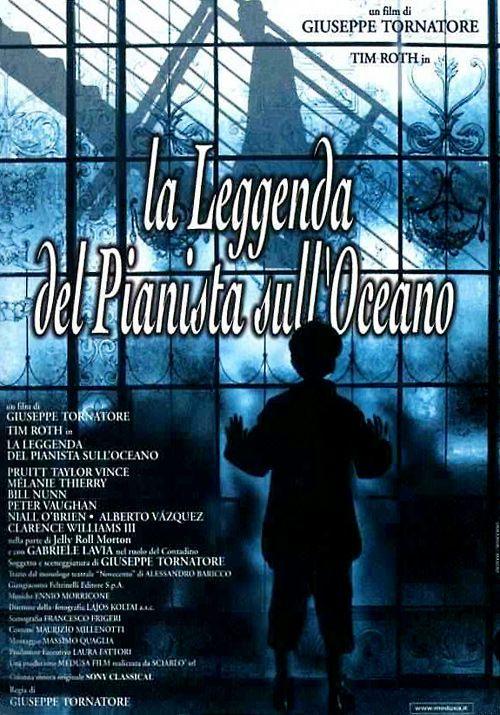 """""""La leggenda del pianista sull'oceano"""", di Giuseppe Tornatore."""