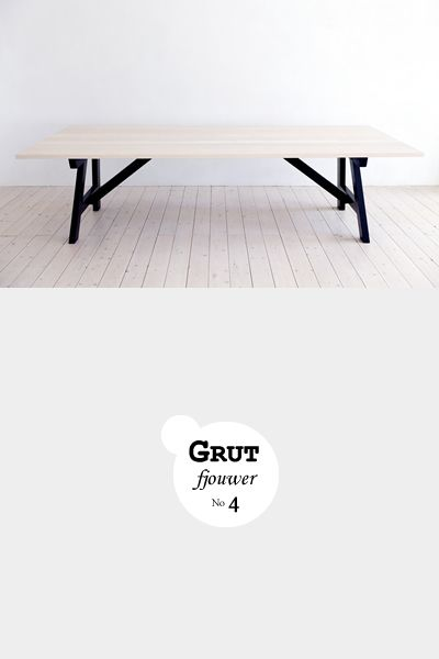 Grut 4 | Slowwood handmade furniture