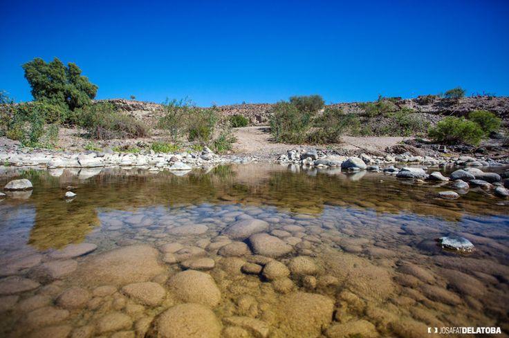 A Little lake into the Baja California Sur desert #josafatdelatoba #bajacaliforniasur #desert #mexico #lake