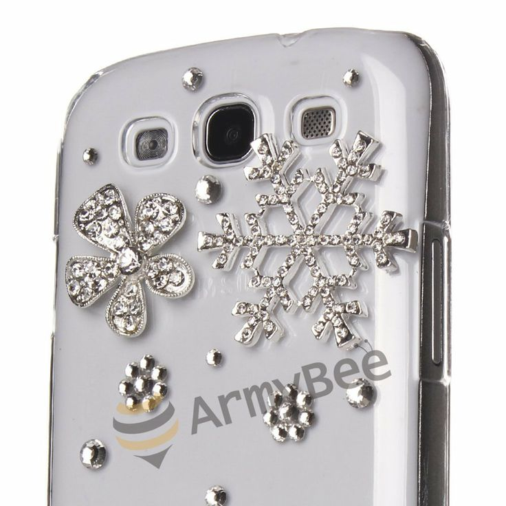 ArmyBee inc Samsung Galaxy S3 Case Bling Crystal Winter Christmas Snowing Snowflake Design | Price:	$6.29
