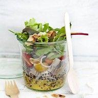 Salade in 'n pot met haring