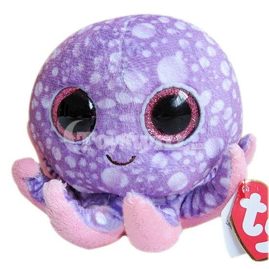purple beanie boos | ... Plush Toy > Children's Love TY Beanie Boos Purple Octopus Stuffed Toy