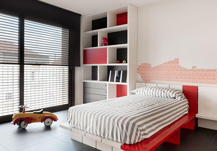 Child Bedroom. Ferrari supporter.
