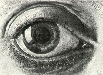 m c eschers relativity analysis Explore the beautiful art of mc escher learn about the artist's life and work get the latest news about exhibitions, learn about the use of mc escher's work, and discover great products that feature the designs of this legendary artist.