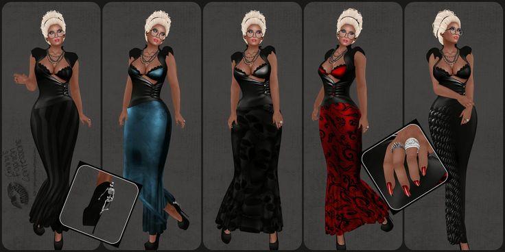 Ginny's Fashion Confessions: Deadpool Fashions ~ Kattunge Gown