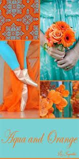 Image Result For Blue Green Pink And Burnt Orange Color Scheme