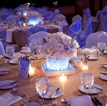 Wedding Reception Flowers Decor In Cleveland Ohio From Blooms By Plantscaping