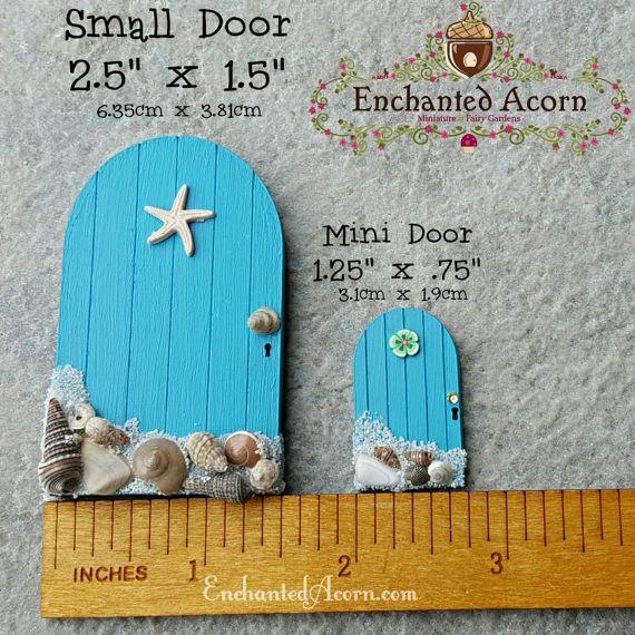 DIY Fairy Door Mini Fairy Garden Door by TheEnchantedAcorn