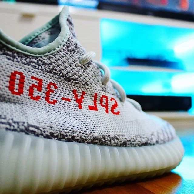 quality design 17e11 2413d Go check out my Adidas Yeezy Boost 350 V2 Blue Tint on feet ...