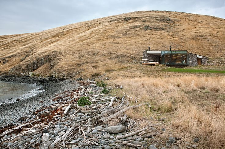 pattersons builds remote seascape retreat on volcanic mountainside