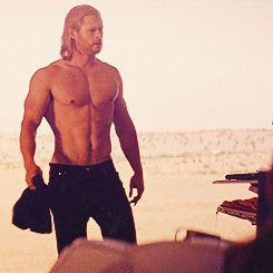 Pin for Later: These Sexy Thor Moments Might Make Chris Hemsworth the Hottest Avenger When His Abs Make Your Eyes Pop Out Like a Cartoon Character