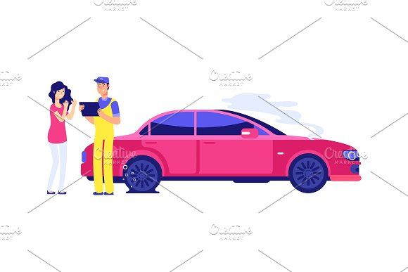 Car Insurance Accident Woman Auto Car Insurance Car Accident