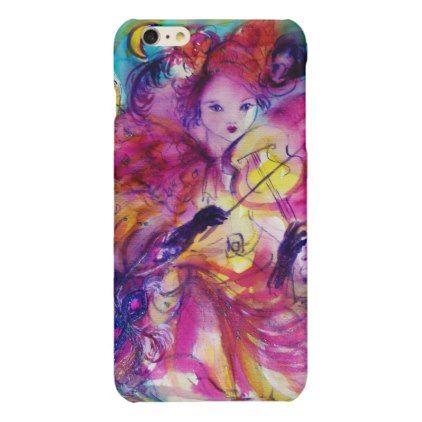 MASQUERADE NIGHT / Venetian Carnival Glossy iPhone 6 Plus Case - glitter glamour brilliance sparkle design idea diy elegant