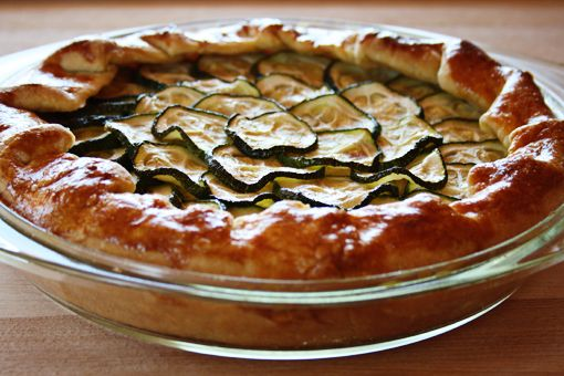 Galette with Ricotta and Zucchini | Delish | Pinterest