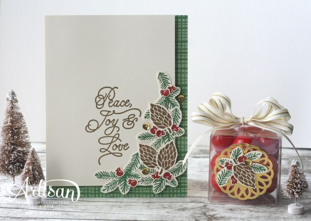 designer eyewear Peace this Christmas Stamp Set and This Christmas DSP  stampin up