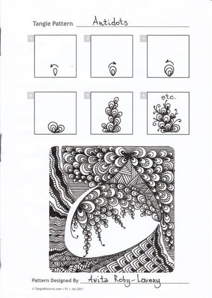 1760 best zentangles images on pinterest