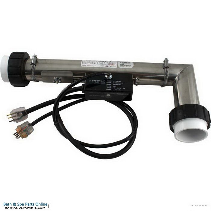 """Hydro-Quip 4.0kW PS Air Heater [2""""x 2""""] [240V] [L-Shape] [Short Cord] [Clamps] (48-PSL40-SA)"""