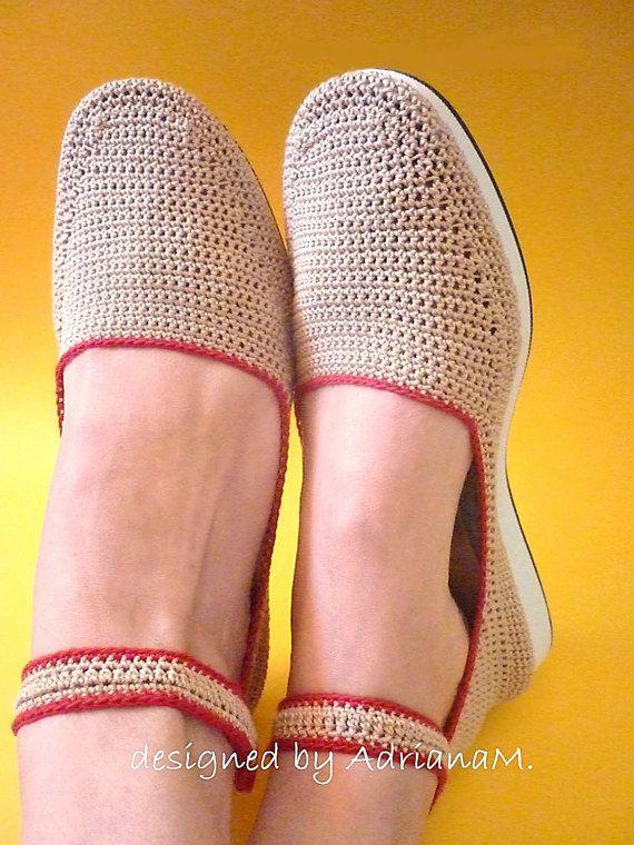 Crochet shoes pattern crochet women sandals pattern by magic4kids