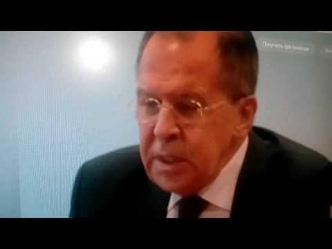 Сергей Лавров назвал «белые каски» - жуликами