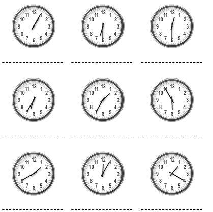 Leer en oefen klokkijken met websites & apps. Op Klokrekenen.nl kan je zelf werkbladen maken.