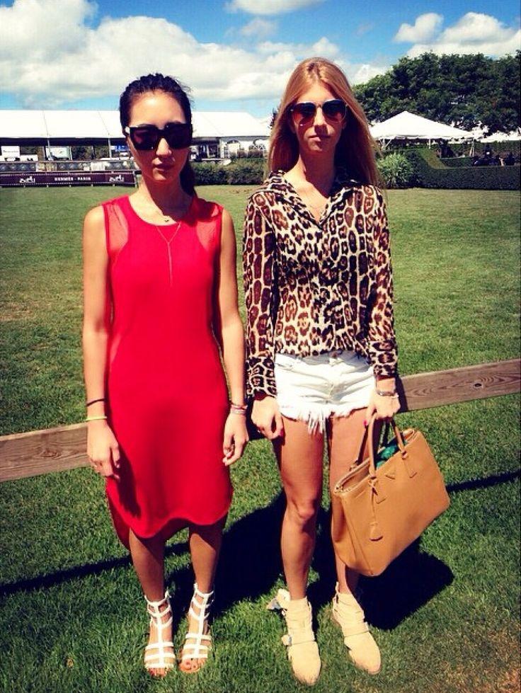 Hampton Classic casual chic #hamptons #summer #besties #thearmyof2