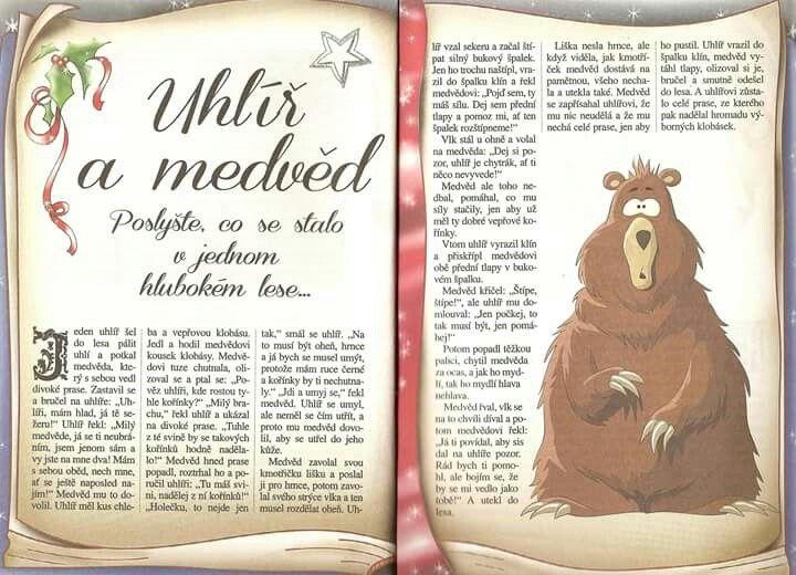 Uhlíř a medvěd