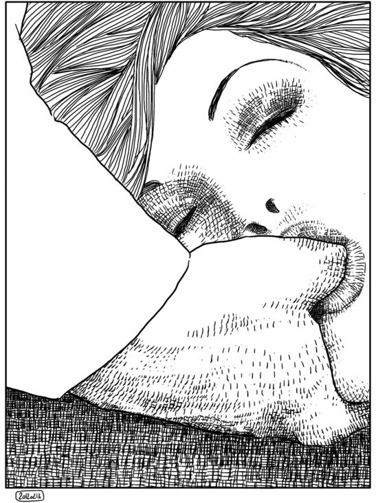 L'invitation by Apollonia Saintclair