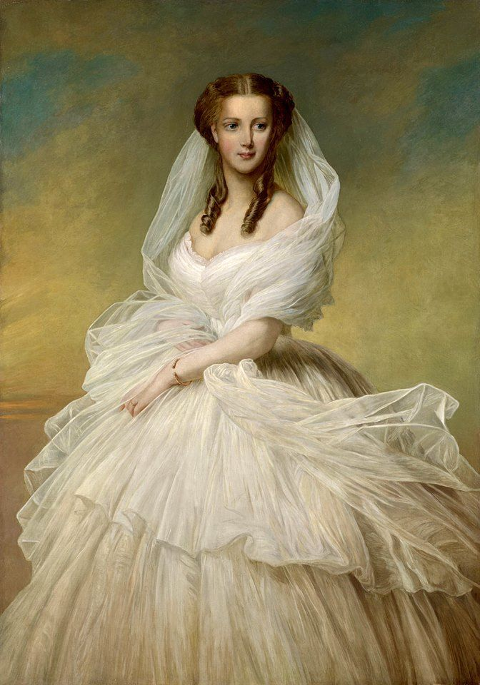 Richard Lauchert - Princess Alexandra of Wales, 1862 - Formerly Princess Alexandra of Denmark, she became Princess of Wales and then Queen Consort of the United Kingdom as the spouse of King Edward VII (Queen Victoria's eldest son).