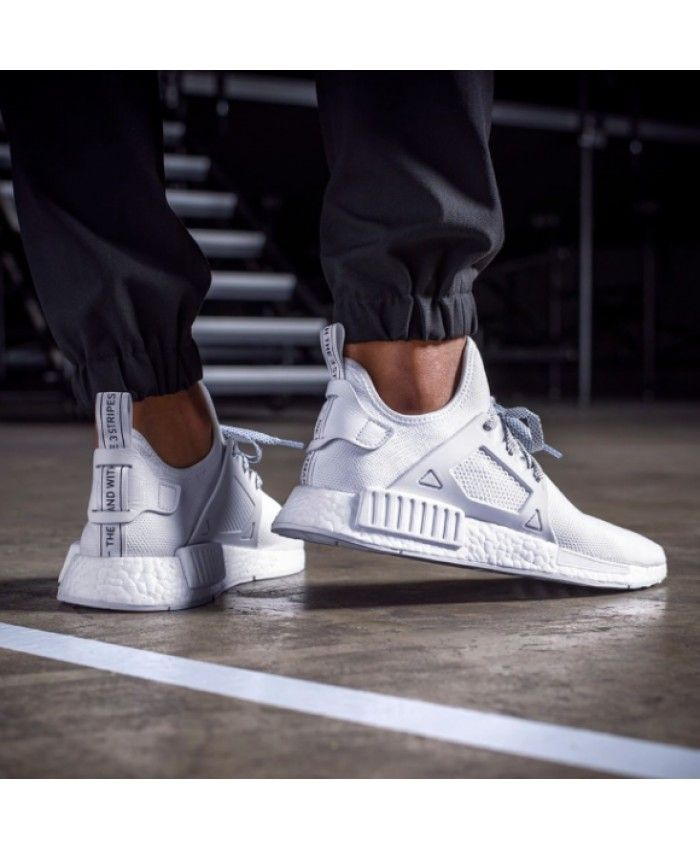 1a8fabf2b Adidas NMD Xr1 Lightweight All White Shoe | adidas nmd mens | Adidas ...