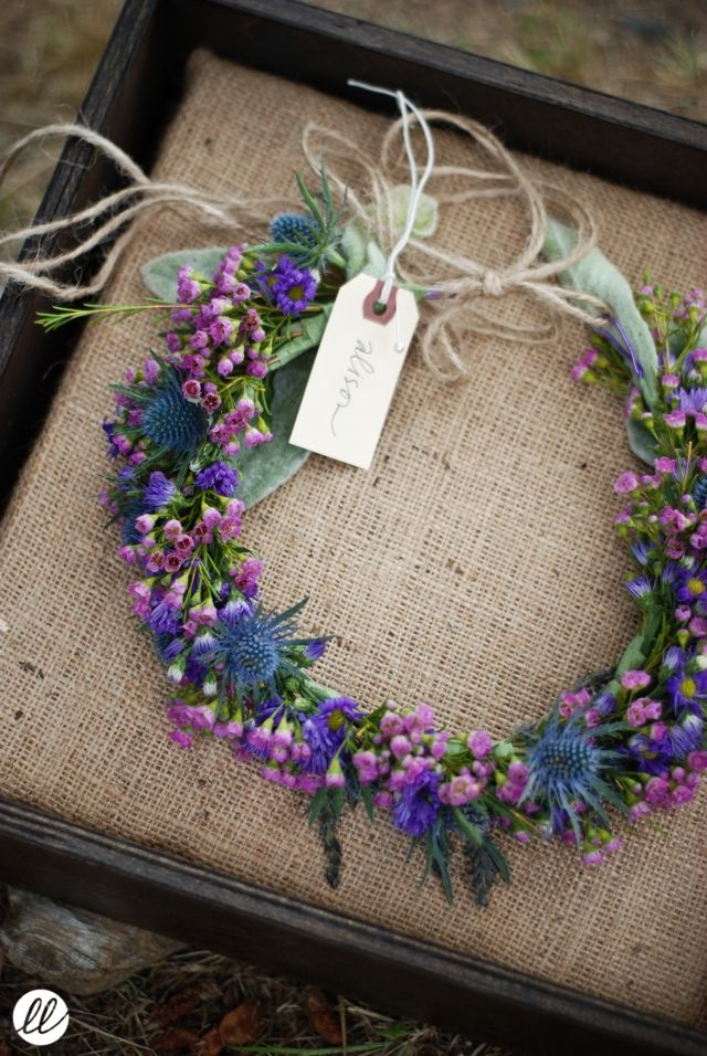 Great for the flower girl. Waist or hair or both, it's the perfect accessory for her.