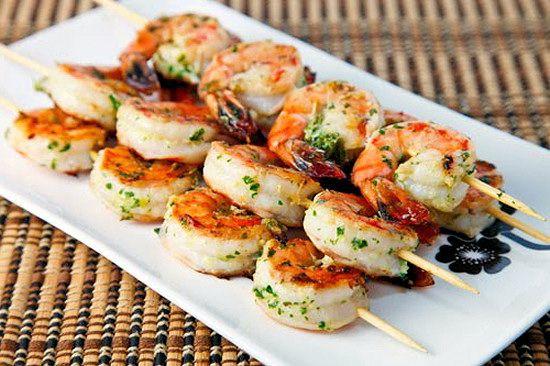 Marinated Grilled Shrimp Olivia Recipes | HEALTHY FOOD | Pinterest
