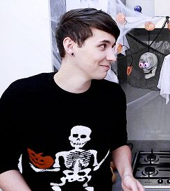 dan and phil are amazingly not on fire. — lydiaspeters:   halloween baking - pumpkin spice...