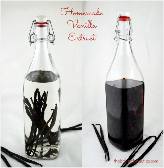 Start making some Homemade Vanilla Extract now, and it'll be ready for gift giving at Christmas! | The Baking Beauties