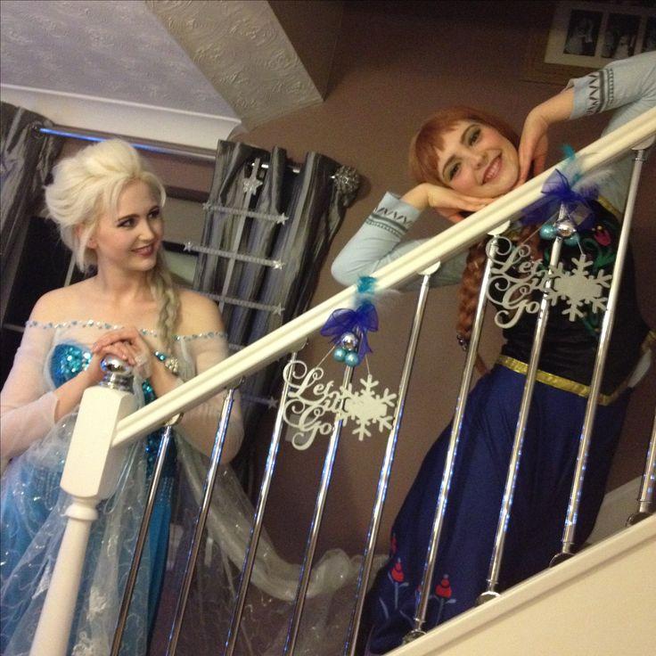 Frozen Christmas tree Anna and Elsa