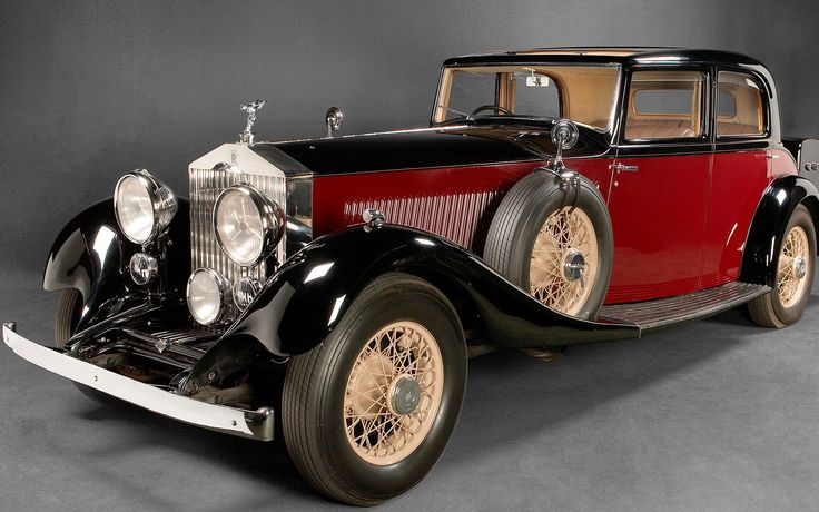 I dream about......an old Rolls-Royce like this one.